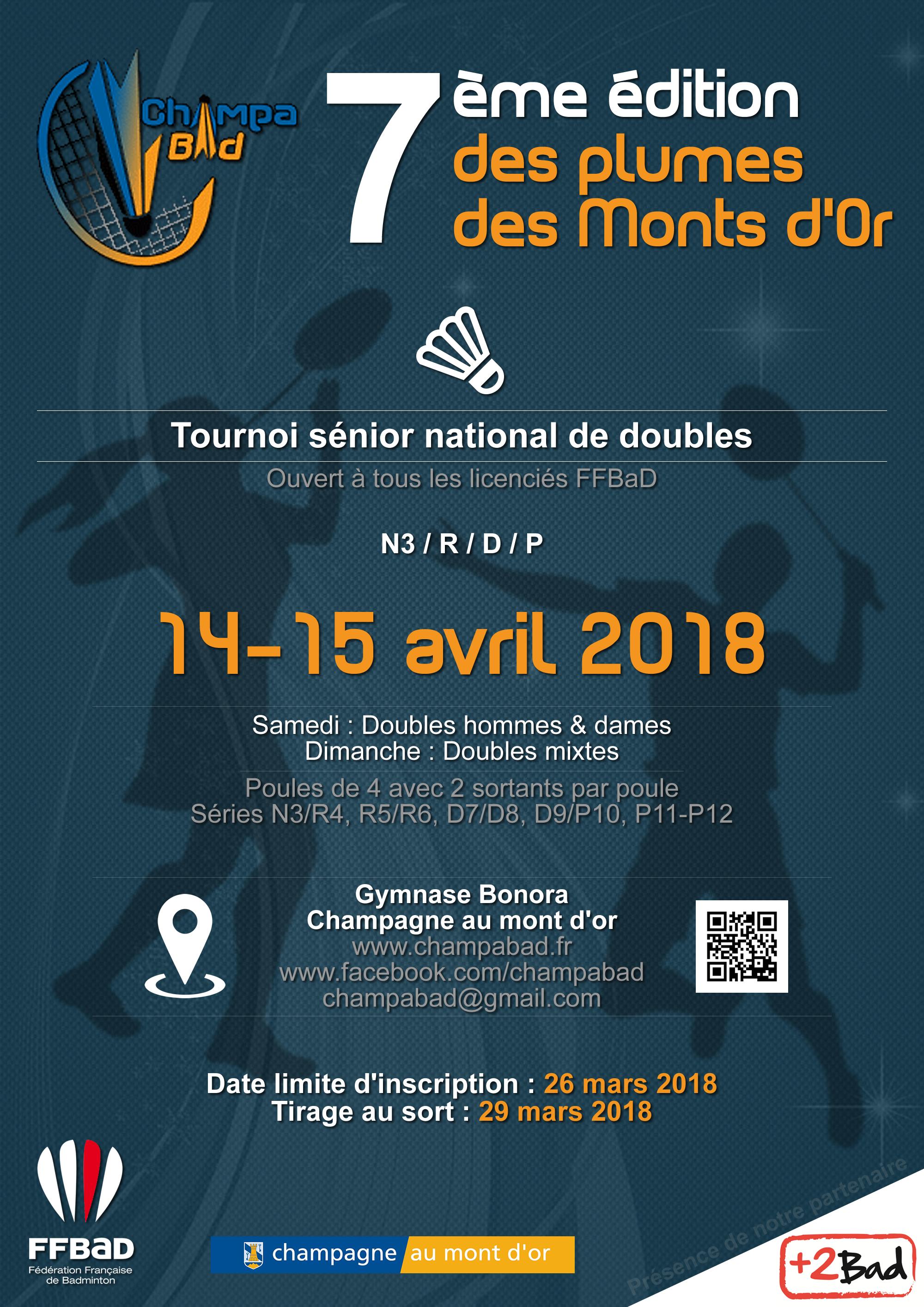 Affiche Plumes des Monts d'Or 2018